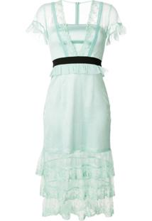 Three Floor Vestido 'Summer Effect' - Verde