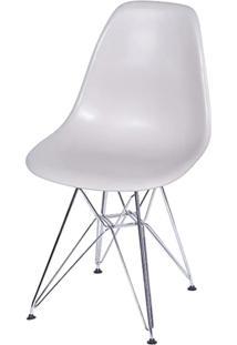 Cadeira Eames Polipropileno Fendi Fosco Cromada - 24129