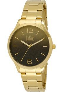 Relógio Dumont Analógico Du2035Lnk/4T Dourado