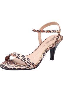 Sandália Dafiti Shoes Fivela Onça