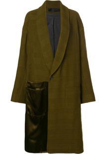 Haider Ackermann Sobretudo Oversized - Verde