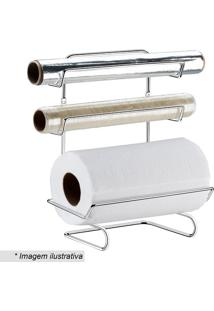 Suporte Para Rolo De Papel Toalha & Papel Alumínio- Pratfuture