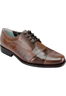 Sapato Social Masculino Derby Sandro Moscoloni Pride Marrom