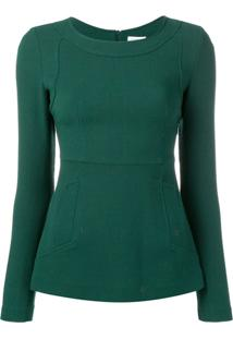 P.A.R.O.S.H. Suéter Decote Careca - Verde