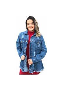 Jaqueta Jeans Desfiado D Bell