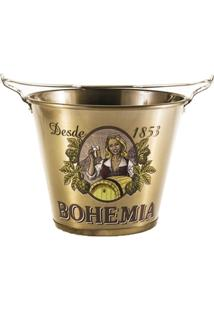 Balde De Gelo Bohemia Alumiart Falcão Alumínio 5L - Unissex