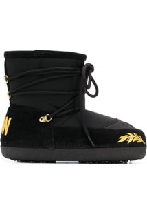 Dsquared2 Drawstring Snow Boots - Preto