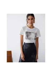 Amaro Feminino T-Shirt With Love To Myself, Off-White