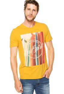 Camiseta Sommer Surf Amarela
