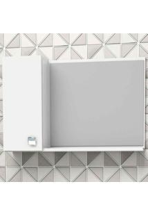 Espelheira De Sobrepor Moara 60X39,8Cm Branca Cozimax