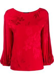 Etro Blusa Floral - Vermelho
