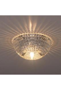 Spot Embutido Cristal Shine Bella Iluminação - Caixa Com 2 Unidade - Transparente