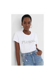 Camiseta Lança Perfume Plural Branca