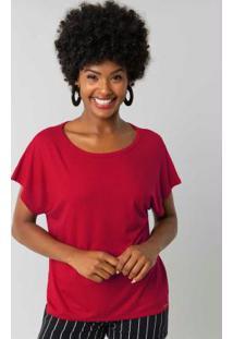 Blusa Malha Sense Vermelho