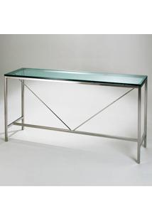 Aparador Fk1 Aço Inox Vidro Cristal Clássica Design By Florence Knoll