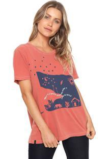 Camiseta Cantão Deserto Laranja