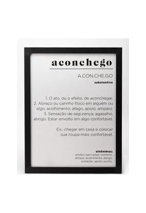 Amaro Feminino Quadro Aconchego 32 Cm X 42 Cm, Aconchego