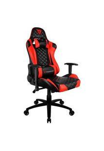 Cadeira Gamer Thunderx3 Tgc12, Preto E Vermelho, Reclinável, Com Almofadas, Cilindro De Gás Classe 4