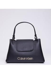 Bolsa Média Calvin Klein Dressed Up - Preto - U