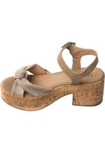 Anabela Butique De Sapatos Curtiça Areia