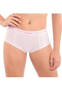 Calcinha Puma Mini Boxer Em Microfibra Feminina - Feminino