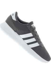 Tênis Adidas Lite Racer - Masculino - Cinza/Branco