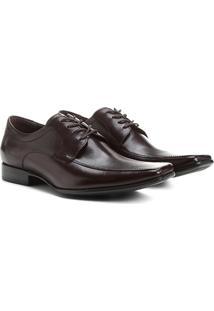 Sapato Social Couro Democrata Premier - Masculino