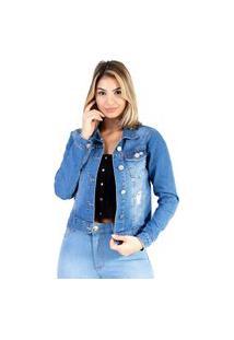 Jaqueta Lady Rock Jeans Média