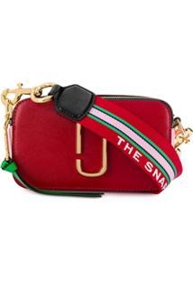 Marc Jacobs Bolsa Transversal Snapshot - Vermelho