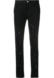 9afad86ff R$ 3454,00. Farfetch Stella Mccartney Star-Print Skinny Jeans - Preto