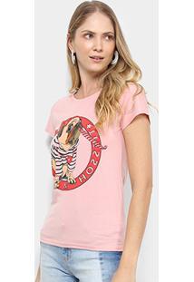 Camiseta Pérola Pug Feminina - Feminino
