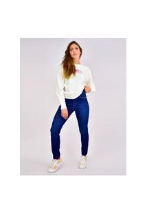 Calça Jeans Toneh Skinny Sil Azul Azul