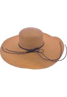 Chapéu Sombrero Alma De Praia De Palha - Feminino