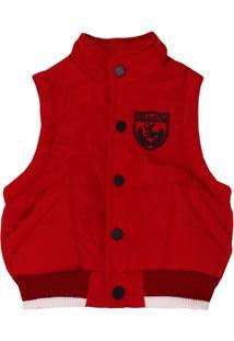 Colete Masculino Cavado Vermelho - Masculino-Vermelho