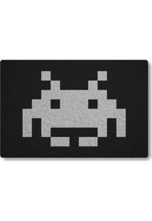 Tapete Capacho Space Invader Ii - Preto