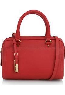 Bolsa Pequena Com Tag Vermelho