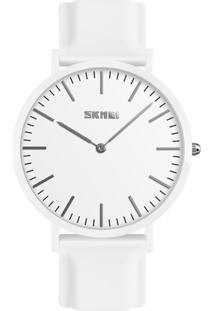 Relógio Skmei Analógico 9179 - Branco