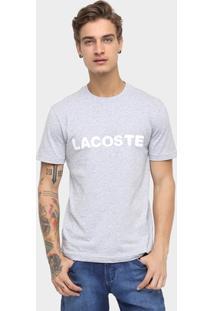 Camiseta Lacoste Manga Curta - Masculino