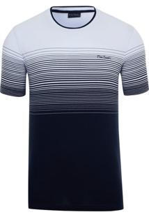 Camiseta Listradora White Print