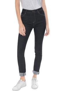 5bdd5f5fd88 ... Calça Jeans Lacoste Skinny Pespontos Azul-Marinho