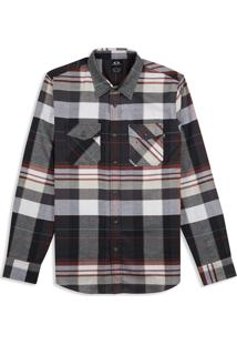 Camisa Masc Mod Frontier Woven