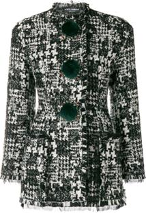 Dolce & Gabbana Jaqueta Slim - Preto