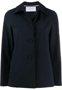 Harris Wharf London Londen Single-Breasted Jacket - Azul
