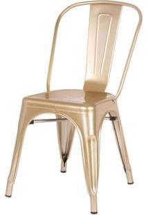 Cadeira Iron Tolix Dourado - 44593 - Sun House