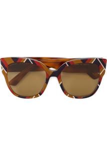 b0a3804456011 Óculos De Sol Plastico Quadrado feminino   Shoelover