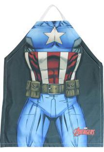 Avental Capitão America Os Vingadores - Zona Criativa