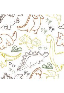 Papel De Parede Adesivo Dinossauros (0,58M X 2,50M)