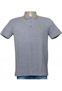Camisa Masc Cavalera Clothing 03.01.0642 Mescla/Mostarda