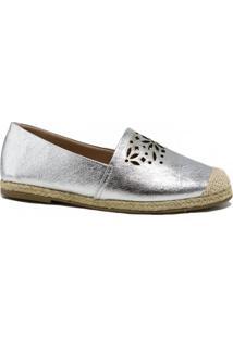 Alpargata Zariff Shoes Metalizada Corda