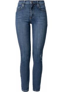Nobody Denim Calça Jeans Cropped - Azul